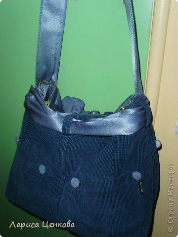 а вот и моя новая сумочка из стареньких моих джинсов фото 4