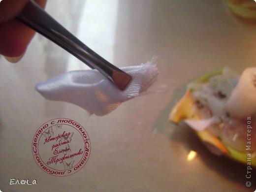 Мастер-класс Украшение Цумами Канзаши Цветочки канзаши + МК по таким анютиным глазкам Бисер Клей Ленты фото 8