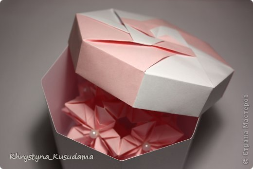 Флорамия (Floramia by Ekaterina Lukasheva) - моя давняя хотелка. легко разгадалась после цветочков Томоко Фусе http://www.origami-instructions.com/origami-modular-5-petal-flower.html они у меня вот здесь https://stranamasterov.ru/node/533650 фото 7