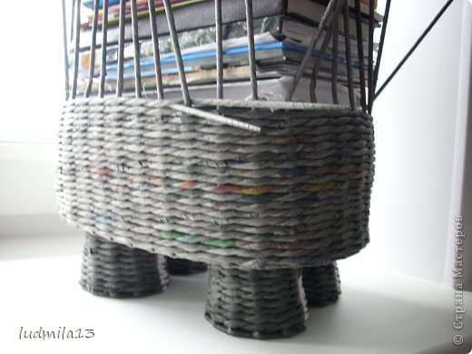 Поделка изделие Плетение коровушка плетеная Трубочки бумажные фото 9