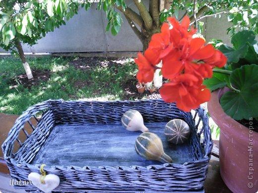 День добрый, мои хорошие жители Страны!!!!!  Всех рада видеть у себя в гостях!  А я все плету потихоньку...  Сегодня поделюсь с Вами очередной плетеночкой..... :)) фото 2