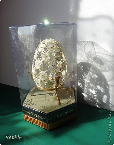 Мастер-класс Поделка изделие Пасха Квиллинг Ажурное яичко + дополнение Бумажные полосы фото 39