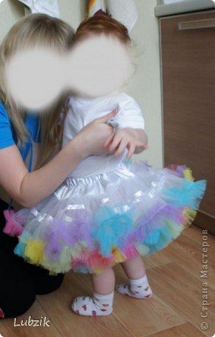 Пышная юбка под американку для девочки мамин креатив