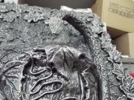 Мастер-класс Лепка Папье-маше Змеюка над колодная  Салфетки Тесто соленое фото 1