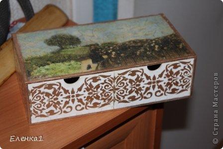 Шкатулка комод фото 1