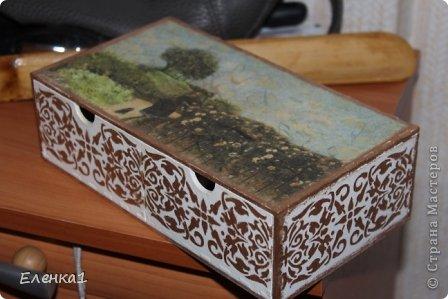 Шкатулка комод фото 2