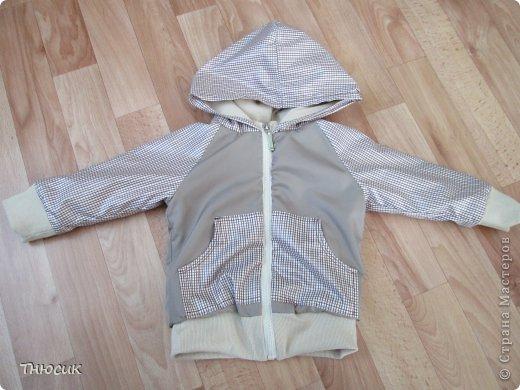 Вот такая курточка у меня получилась. фото 1