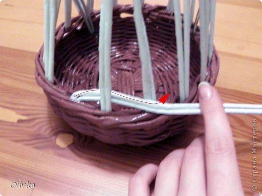 Мастер-класс Плетение Загибка Трубочки бумажные фото 3