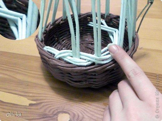 Мастер-класс Плетение Загибка Трубочки бумажные фото 5