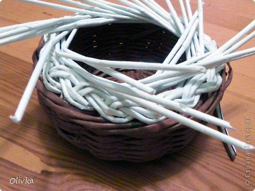 Мастер-класс Плетение Загибка Трубочки бумажные фото 6