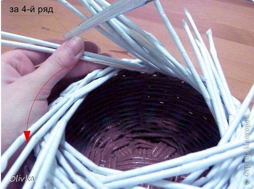 Мастер-класс Плетение Загибка Трубочки бумажные фото 7