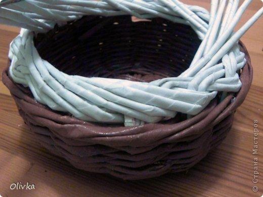 Мастер-класс Плетение Загибка Трубочки бумажные фото 10
