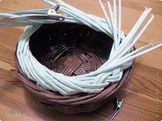 Мастер-класс Плетение Загибка Трубочки бумажные фото 11