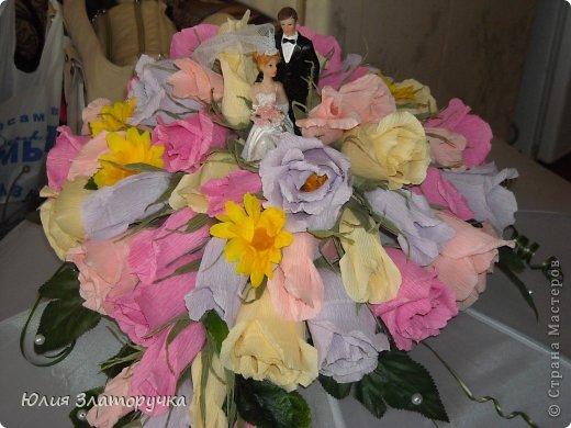 Давно хотелось сделать нечто неординарное. Спасибо девочкам из СМ за свадебные идеи в свое время. И вот одна из них) фото 7