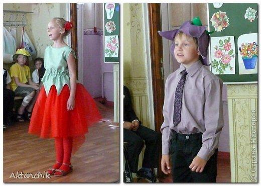 В школе во втором классе состоялся Бал Цветов. Мой сынуля захотел быть Маком. фото 5