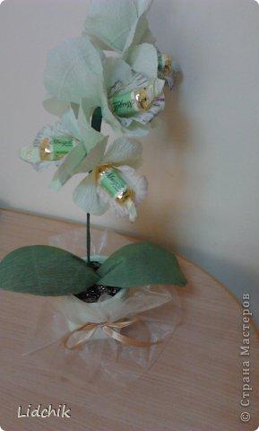 Свит-дизайн Моделирование Орхидея зацвела Бумага фото 1.
