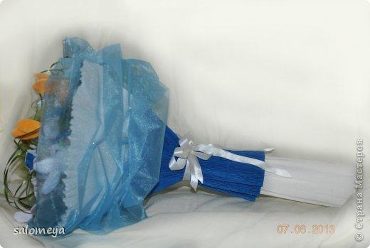 Свит дизайн бумагопластика букет из
