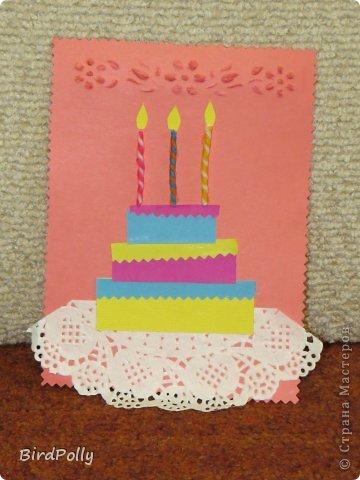 Несложные поделки  ко дню рождения