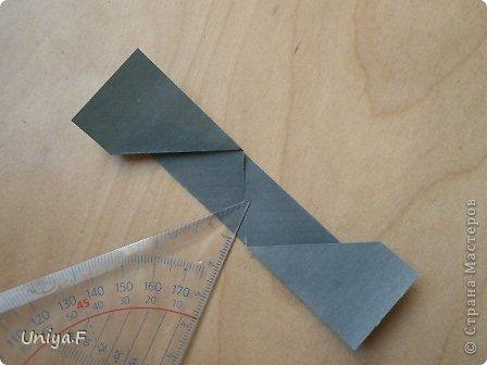 """Добрый день, коллеги!  И так, приступаю к обвальному затуториаливанию.  Незапланированный опрос общественного мнения показал, что эта кусудама наиболее желанна. С нее и начнем. МК в студию!   Name: Milisenta collection """"Ribbon Flowers""""  Designer: Uniya Filonova  Units: 30  Paper: 3*15 cm (1:5) Final height: ~ 9 cm  Joint: no glue фото 9"""