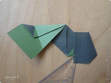 """Добрый день, коллеги!  И так, приступаю к обвальному затуториаливанию.  Незапланированный опрос общественного мнения показал, что эта кусудама наиболее желанна. С нее и начнем. МК в студию!   Name: Milisenta collection """"Ribbon Flowers""""  Designer: Uniya Filonova  Units: 30  Paper: 3*15 cm (1:5) Final height: ~ 9 cm  Joint: no glue фото 11"""