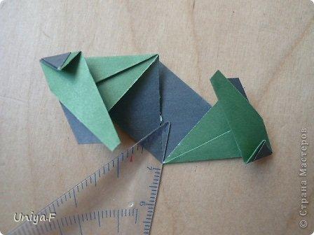 """Добрый день, коллеги!  И так, приступаю к обвальному затуториаливанию.  Незапланированный опрос общественного мнения показал, что эта кусудама наиболее желанна. С нее и начнем. МК в студию!   Name: Milisenta collection """"Ribbon Flowers""""  Designer: Uniya Filonova  Units: 30  Paper: 3*15 cm (1:5) Final height: ~ 9 cm  Joint: no glue фото 15"""