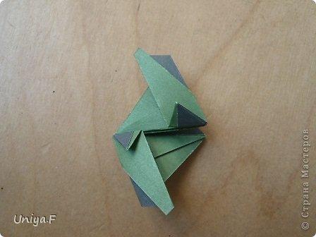 """Добрый день, коллеги!  И так, приступаю к обвальному затуториаливанию.  Незапланированный опрос общественного мнения показал, что эта кусудама наиболее желанна. С нее и начнем. МК в студию!   Name: Milisenta collection """"Ribbon Flowers""""  Designer: Uniya Filonova  Units: 30  Paper: 3*15 cm (1:5) Final height: ~ 9 cm  Joint: no glue фото 18"""
