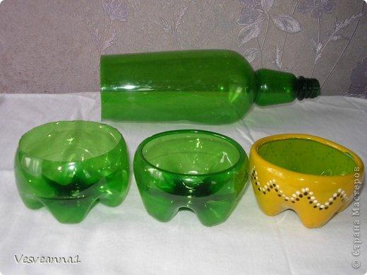 Мастер-класс Вырезание Фиалки из пластиковых бутылок Бутылки пластиковые фото 16