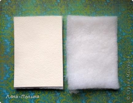 Мастер-класс Скрапбукинг Ассамбляж Шитьё Тканевая обложка на паспорт МК Бумага Клей Ткань фото 3