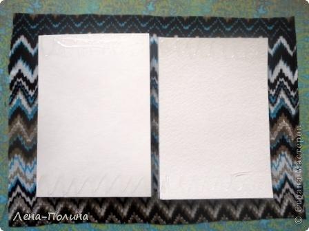 Мастер-класс Скрапбукинг Ассамбляж Шитьё Тканевая обложка на паспорт МК Бумага Клей Ткань фото 4