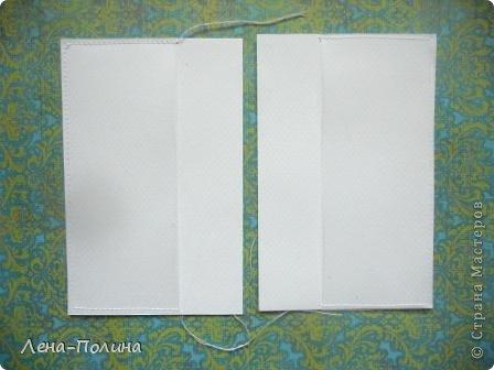 Мастер-класс Скрапбукинг Ассамбляж Шитьё Тканевая обложка на паспорт МК Бумага Клей Ткань фото 12