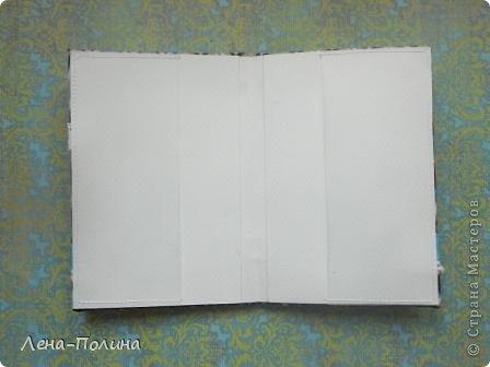 Мастер-класс Скрапбукинг Ассамбляж Шитьё Тканевая обложка на паспорт МК Бумага Клей Ткань фото 14