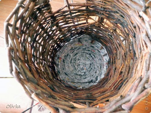 Декор предметов Картина панно рисунок Аппликация Плетение Новая жизнь брошенных вещей Картон Мешковина Трубочки бумажные фото 9