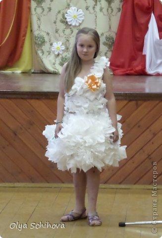 Платья из салфеток своими руками на конкурс 25