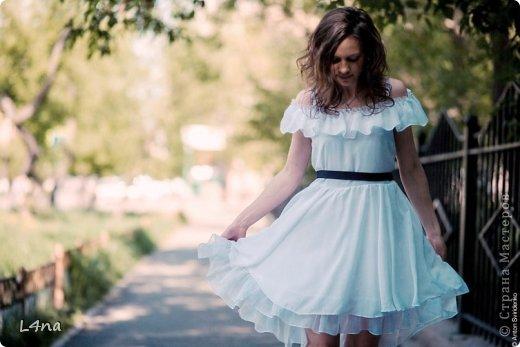предлагаем вам связать летнее платье