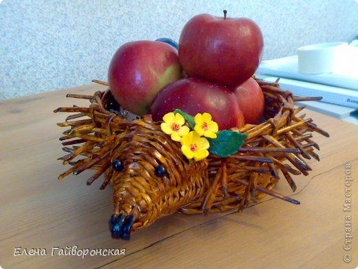Всем доброго дня.Заказали две корзиночки под фрукты-яблоки-конфеты. фото 2