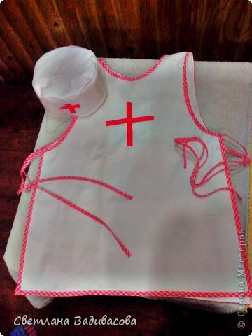Как сделать детский фартук из клеенки 2