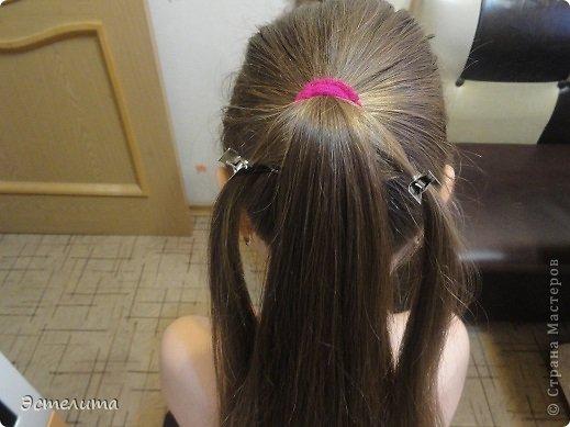 Мастер-класс Прическа Плетение мини мк 5 минут и красота Волосы фото 3