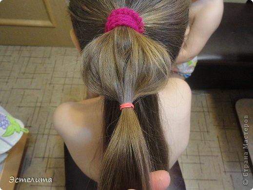 Мастер-класс Прическа Плетение мини мк 5 минут и красота Волосы фото 5