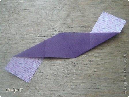 """Большой привет!  Очередной МК. Кусудама """"Зимняя вишня"""". Мне она очень нравится: воздушная, колючая, цветущая. Плюс простая сборка.  Name: Winterсherry collection """"Ribbon Flowers"""" Designer: Uniya Filonova Units: 30 Paper: 2,9 * 15 sm  Final height: ~ 10,5 sm Joint: no glue фото 5"""