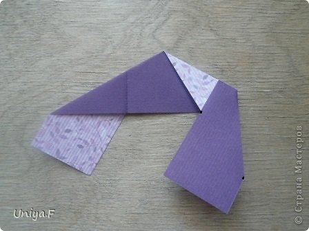 """Большой привет!  Очередной МК. Кусудама """"Зимняя вишня"""". Мне она очень нравится: воздушная, колючая, цветущая. Плюс простая сборка.  Name: Winterсherry collection """"Ribbon Flowers"""" Designer: Uniya Filonova Units: 30 Paper: 2,9 * 15 sm  Final height: ~ 10,5 sm Joint: no glue фото 6"""