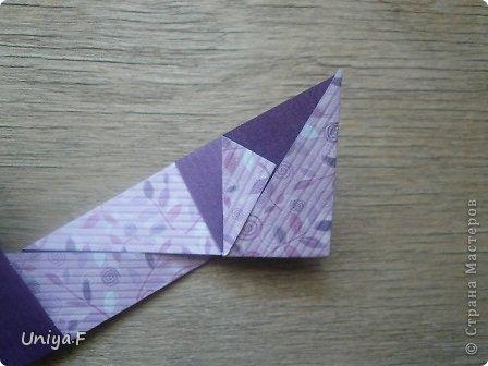 """Большой привет!  Очередной МК. Кусудама """"Зимняя вишня"""". Мне она очень нравится: воздушная, колючая, цветущая. Плюс простая сборка.  Name: Winterсherry collection """"Ribbon Flowers"""" Designer: Uniya Filonova Units: 30 Paper: 2,9 * 15 sm  Final height: ~ 10,5 sm Joint: no glue фото 9"""