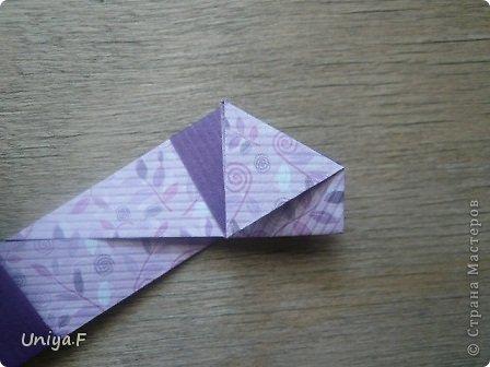"""Большой привет!  Очередной МК. Кусудама """"Зимняя вишня"""". Мне она очень нравится: воздушная, колючая, цветущая. Плюс простая сборка.  Name: Winterсherry collection """"Ribbon Flowers"""" Designer: Uniya Filonova Units: 30 Paper: 2,9 * 15 sm  Final height: ~ 10,5 sm Joint: no glue фото 10"""