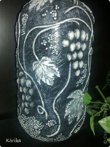 Мисочка. Потребительская бумага, покрашена вода+колер, дно - декупаж на пленку. фото 10