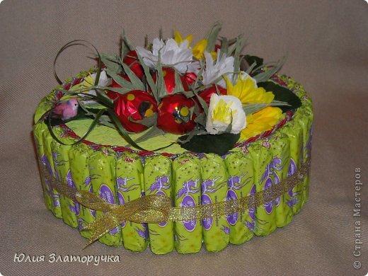 Вот и у меня клубничка поспела,и сразу в торт ее!)))) фото 1