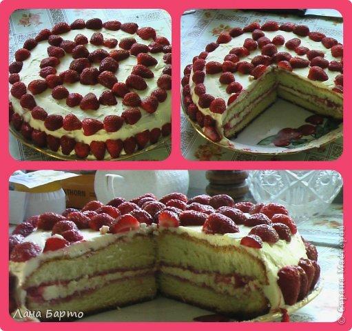 рецепт торта с муссом