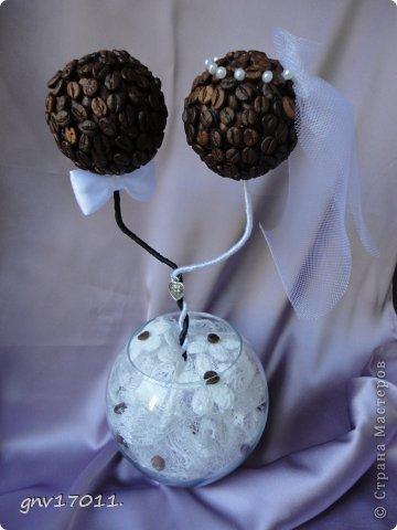 Кофейные топиарии фото 3