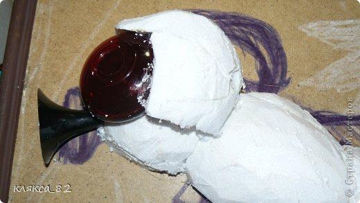Картина панно рисунок Мастер-класс Цокотуха Бумага Клей Кожа Материал бросовый Проволока фото 4