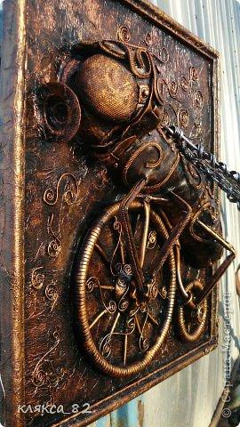 Картина панно рисунок Мастер-класс Цокотуха Бумага Клей Кожа Материал бросовый Проволока фото 16