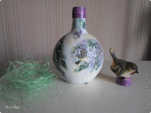 Мисочка. Потребительская бумага, покрашена вода+колер, дно - декупаж на пленку. фото 14