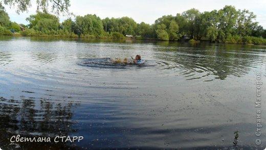 В первый раз Маша купается в этом году! фото 2